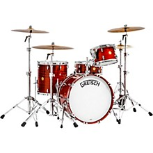 """Gretsch Drums Broadkaster 135th Anniversary 4-Piece Shell Pack with 22"""" Bass Drum in Classic Mahogany"""