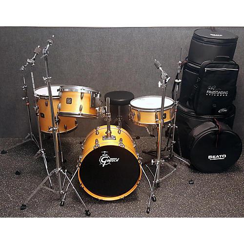 used gretsch drums broadkaster 4 piece drum set drum kit guitar center. Black Bedroom Furniture Sets. Home Design Ideas