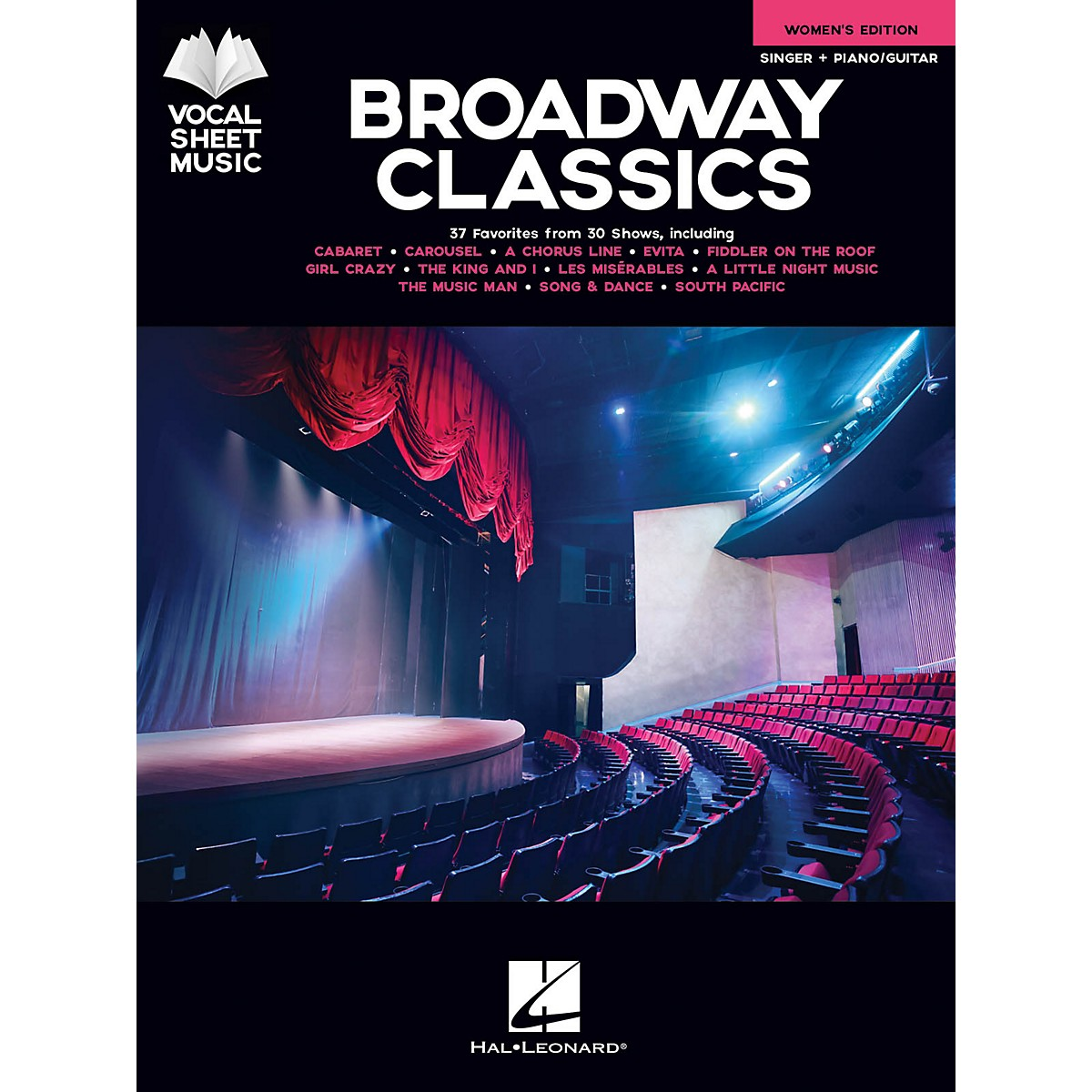 Hal Leonard Broadway Classics - Women's Edition (Singer + Piano/Guitar) Vocal Sheet Series Songbook