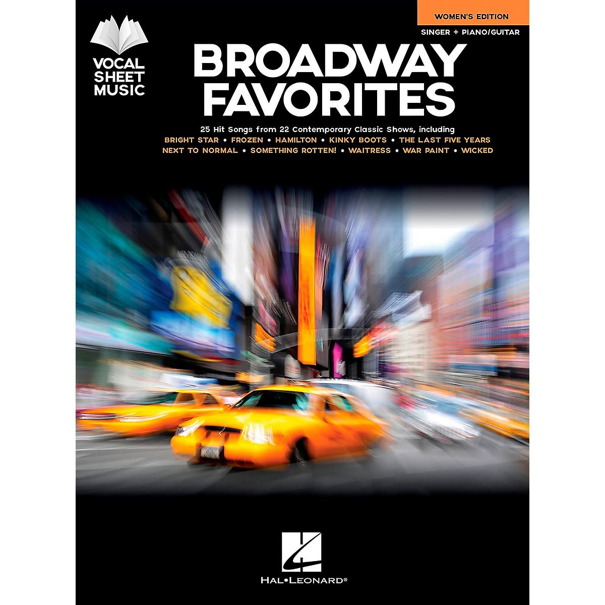 Hal Leonard Broadway Favorites - Women's Edition (Vocal Sheet Music) Singer + Piano/Guitar Songbook