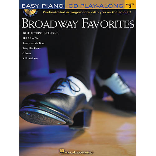Hal Leonard Broadway Favorites Volume 3 Book/CD Easy Piano CD Play-Along