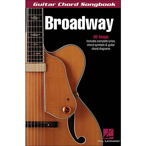 Hal Leonard Broadway Guitar Chord Songbook