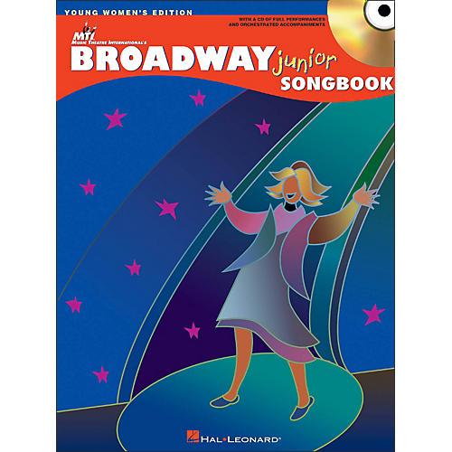 Hal Leonard Broadway Junior Songbook - Young Women's Editon Book/CD