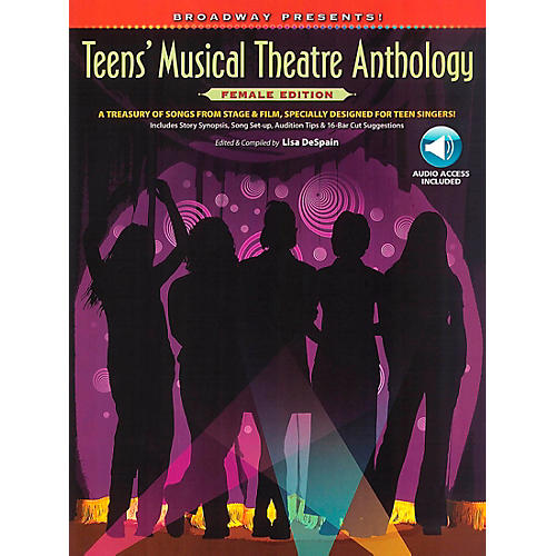 Hal Leonard Broadway Presents! Teens' Musical Theatre Anthology Female Edition Book/CD