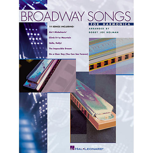 Hal Leonard Broadway Songs for Harmonica Harmonica Series