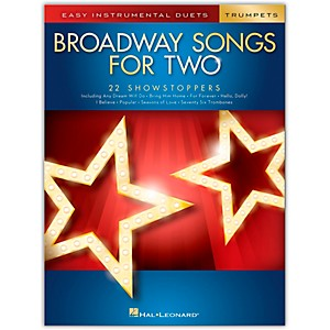Click here to buy Hal Leonard Broadway Songs for Two Trumpets - Easy Instrumental Duets by Hal Leonard.