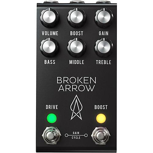 Jackson Audio Broken Arrow v2 Overdrive Effects Pedal - Black