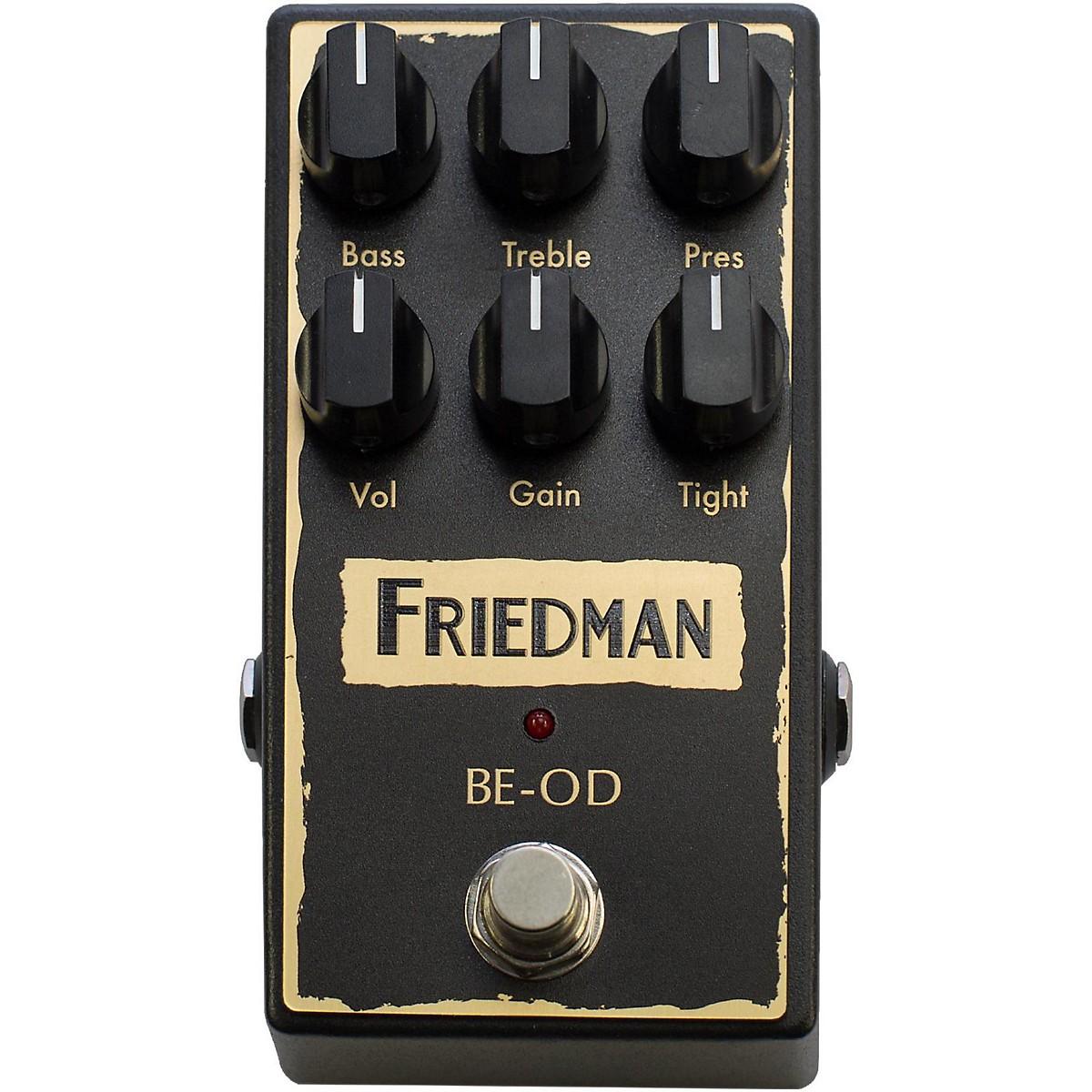Friedman Brown Eye Overdrive Pedal