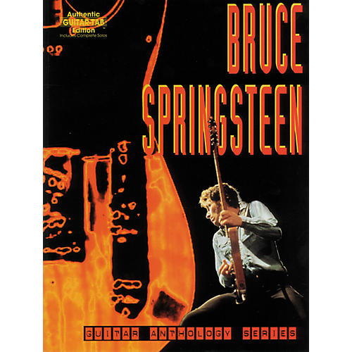 Alfred Bruce Springsteen Anthology Series Guitar Tab Book