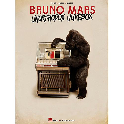 Hal Leonard Bruno Mars - Unorthodox Jukebox for Piano/Vocal/Guitar (PVG)