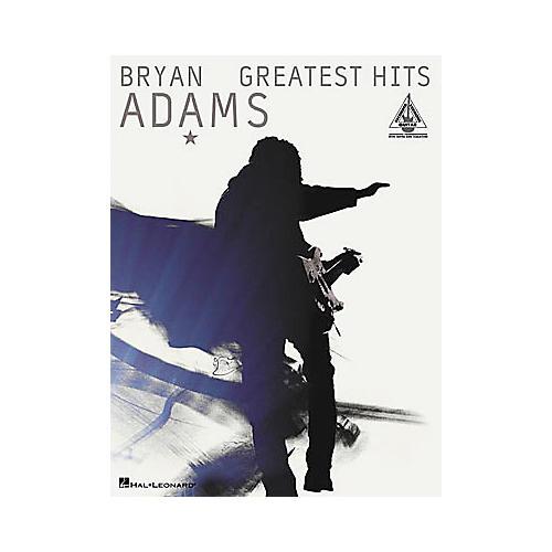 Hal Leonard Bryan Adams - Greatest Hits Book