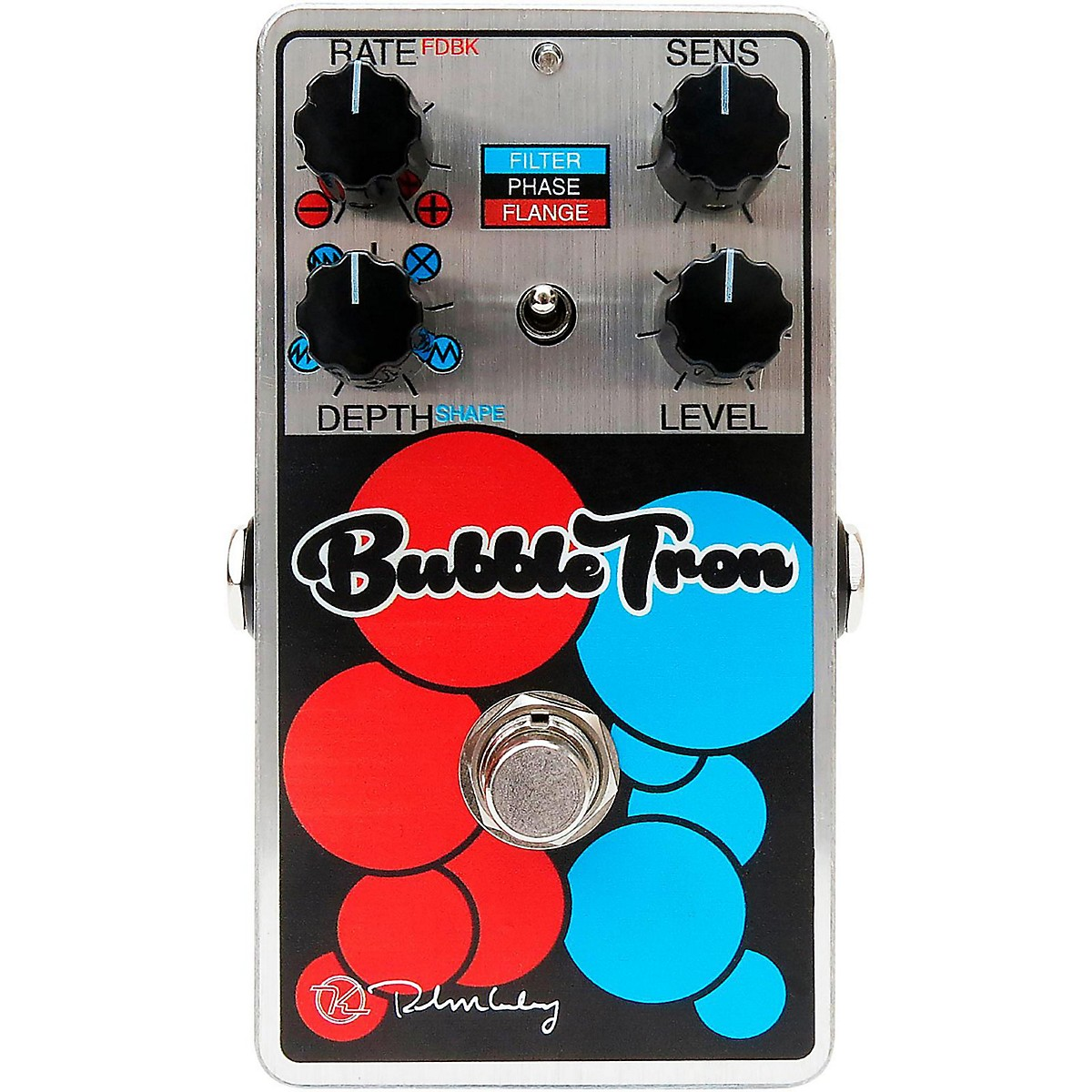Keeley Bubble Tron Filter Flanger & Phaser Effects Pedal