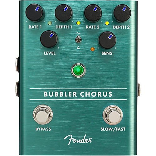 Fender Bubbler Chorus Effect Pedal