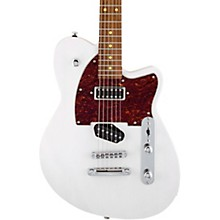 Buckshot Roasted Pau Ferro Fingerboard Electric Guitar Transparent White