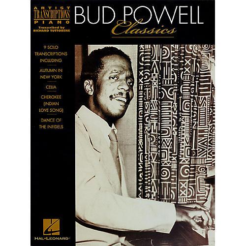 Hal Leonard Bud Powell Classics Artist Transcriptions Series Performed by Bud Powell