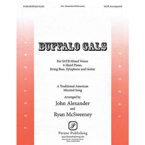 Pavane Buffalo Gals Score & Parts Arranged by John Alexander