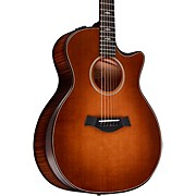 Builder's Edition 614ce V-Class Grand Auditorium Acoustic-Electric Guitar Wild Honey Burst