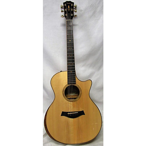 used taylor builders reserve v guitar and amp set acoustic electric guitar natural guitar center. Black Bedroom Furniture Sets. Home Design Ideas