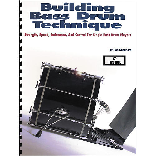 Modern Drummer Building Bass Drum Technique Book/CD