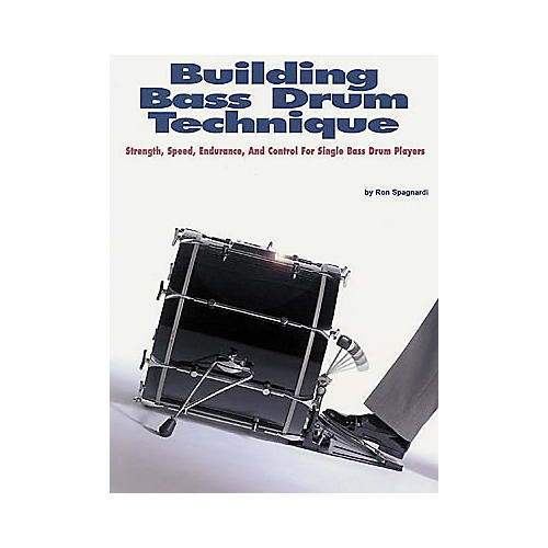 Hal Leonard Building Bass Drum Technique Book