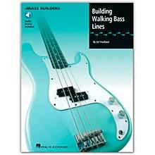 Hal Leonard Building Walking Bass Lines (Book/Online Audio)