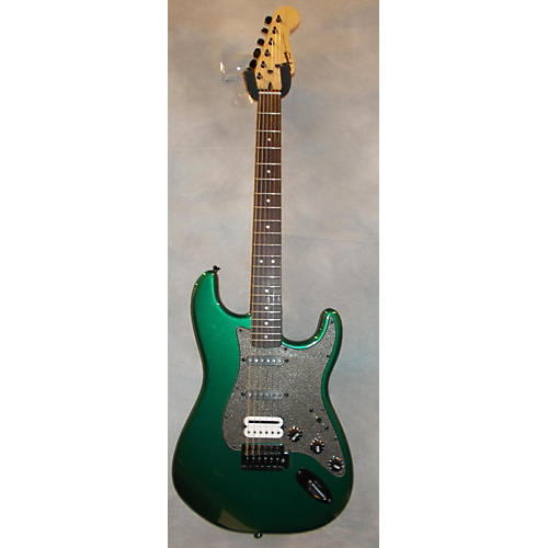 Squier Bullet Trem HSS Green Solid Body Electric Guitar
