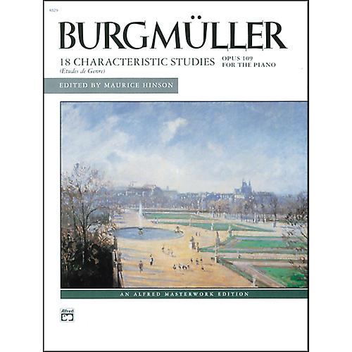 Alfred Burgm¼ller 18 Characteristic Studies Op. 109 Intermediate/Late Intermediate Piano