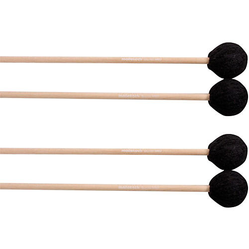 Malletech Burritt Marimba Mallets Set of 4 (2 Matched Pairs)