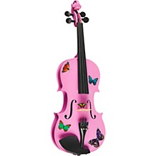 Rozanna's Violins Butterfly Dream Lavender Series Violin Outfit Level 1 4/4 Size