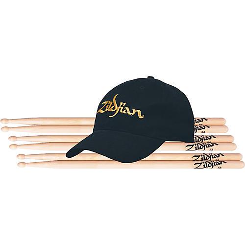 Zildjian Buy 3 Pair Wood Drumsticks Get a Free Zildjian Cap