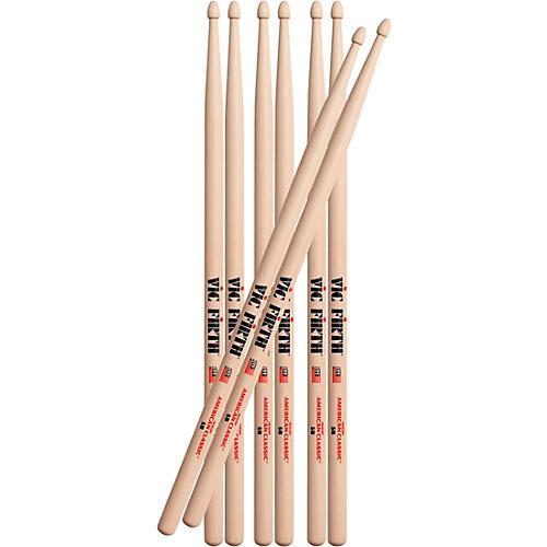 Vic Firth Buy 3 Pair of 5B Drum Sticks, Get 1 Pair Free