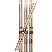 Buy Three Pairs Extreme Drum Sticks Get One Free X5A Wood