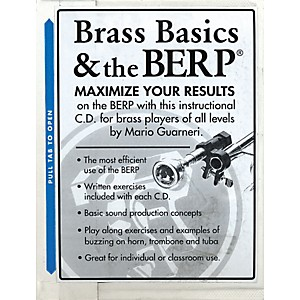 Berp Buzz Extension and Resistance Piece Brass Basics and The B.E.R.P. CD by Berp