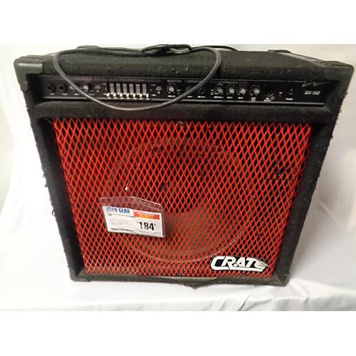 used crate bx160 bass combo amp guitar center. Black Bedroom Furniture Sets. Home Design Ideas