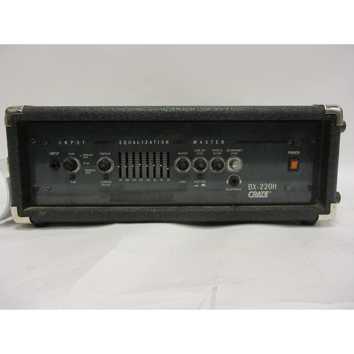 Crate Bx220H Bass Amp Head