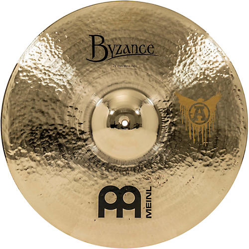 Meinl Byzance Brilliant Chris Adler Signature Pure Metal Ride Cymbal ... 37fe199ca1a4