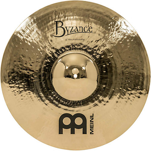 Meinl Byzance Brilliant Heavy Hammered Ride Cymbal