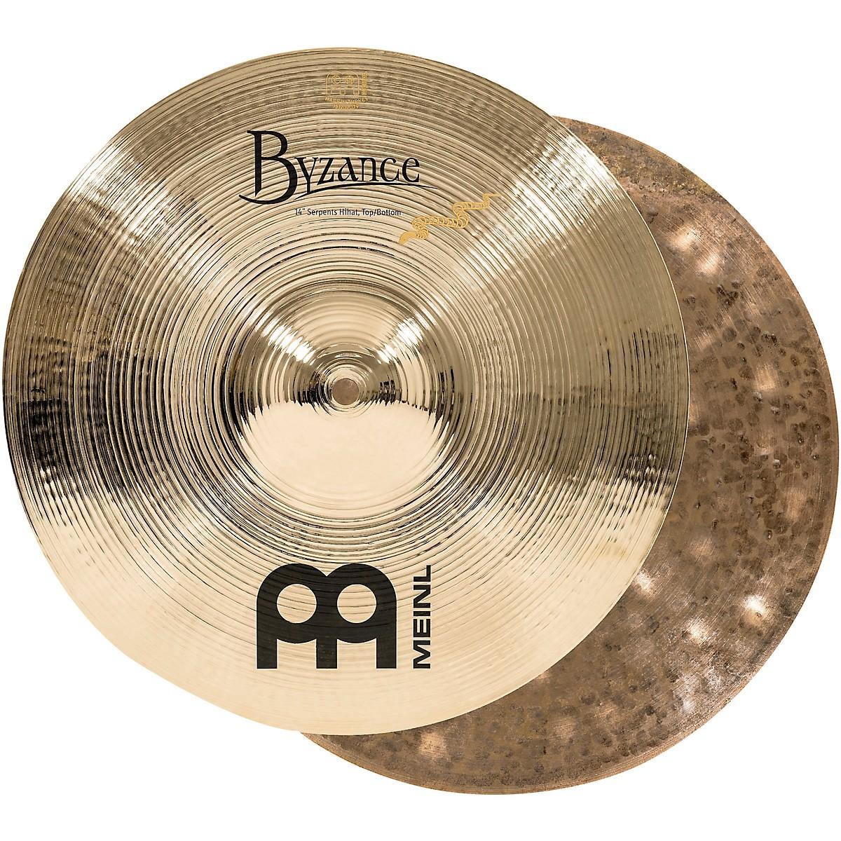 Meinl Byzance Brilliant Serpents Hi-Hat Cymbals