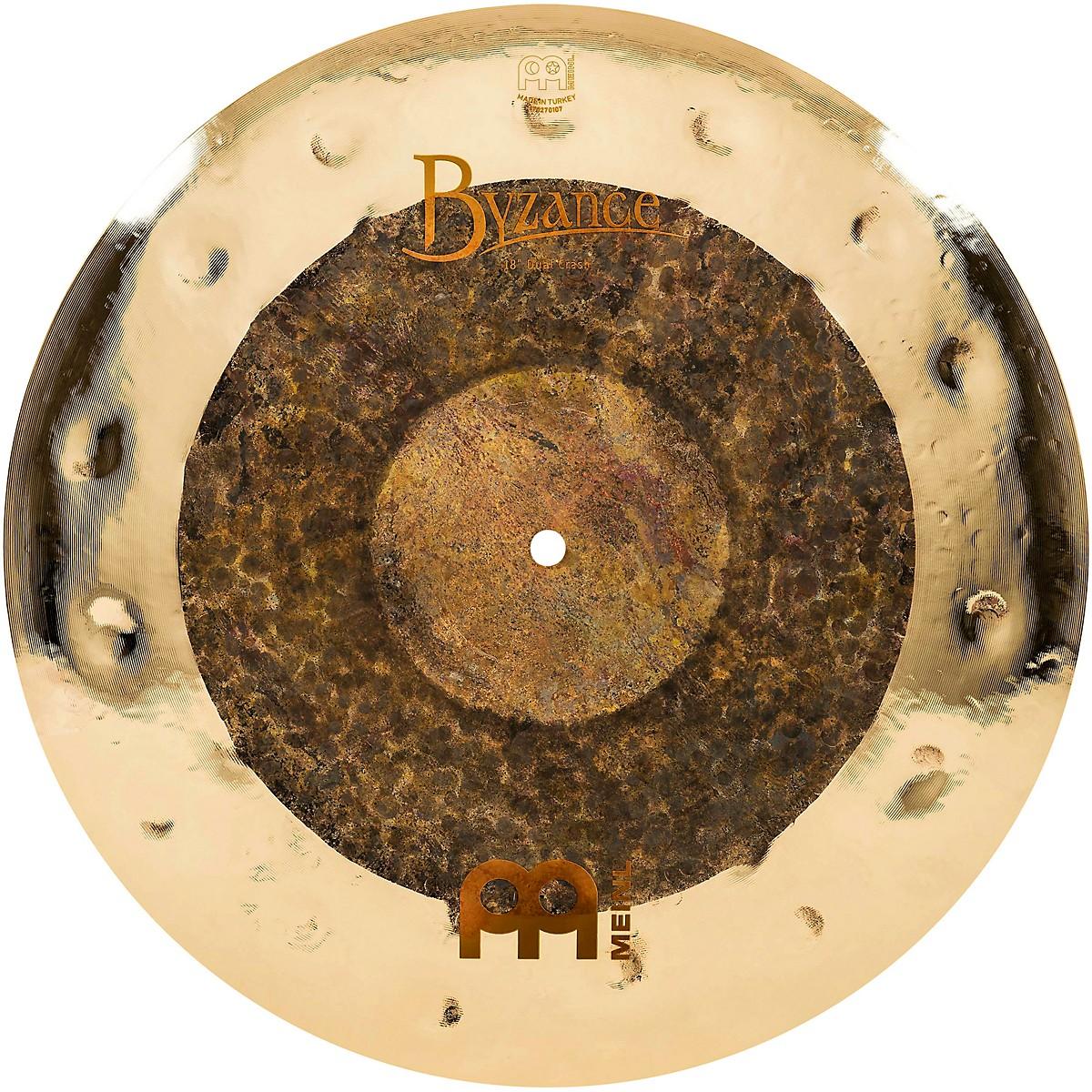Meinl Byzance Extra Dry Dual Crash Cymbal