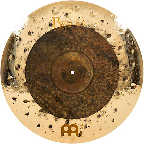 meinl byzance extra dry dual crash ride cymbal guitar center. Black Bedroom Furniture Sets. Home Design Ideas