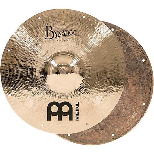 Meinl Byzance Fast Hi-Hat Brilliant Cymbals