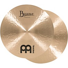 Meinl Byzance Heavy Hi-Hat Traditional Cymbals