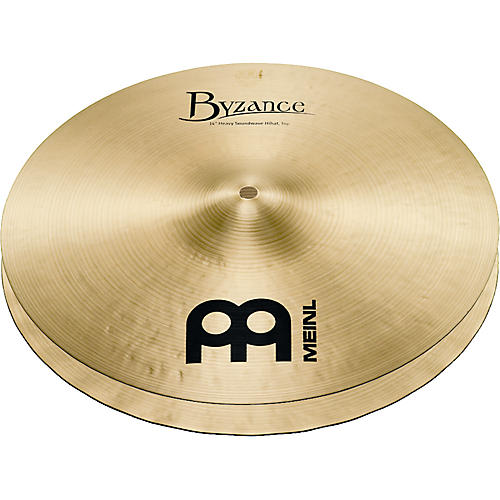 Meinl Byzance Heavy Soundwave Hi-Hat Traditional Cymbals