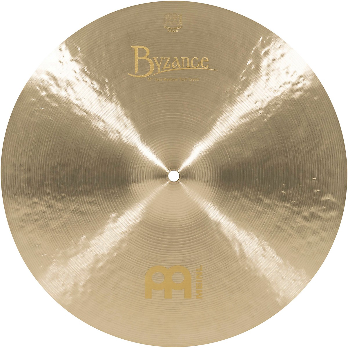 Meinl Byzance Jazz Medium Thin Crash Cymbal