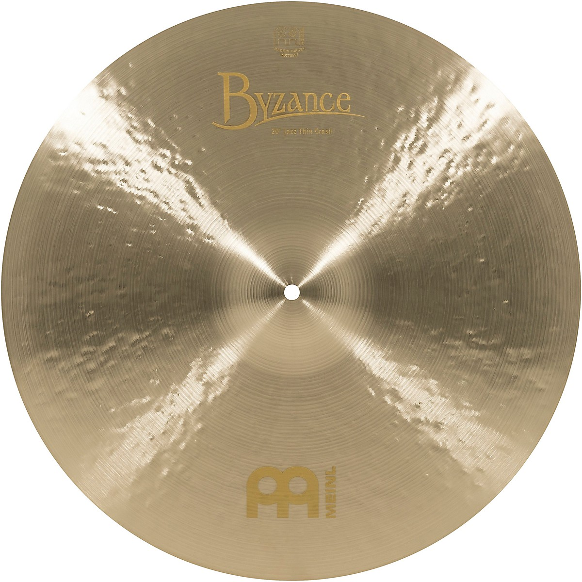 Meinl Byzance Jazz Thin Crash Traditional Cymbal