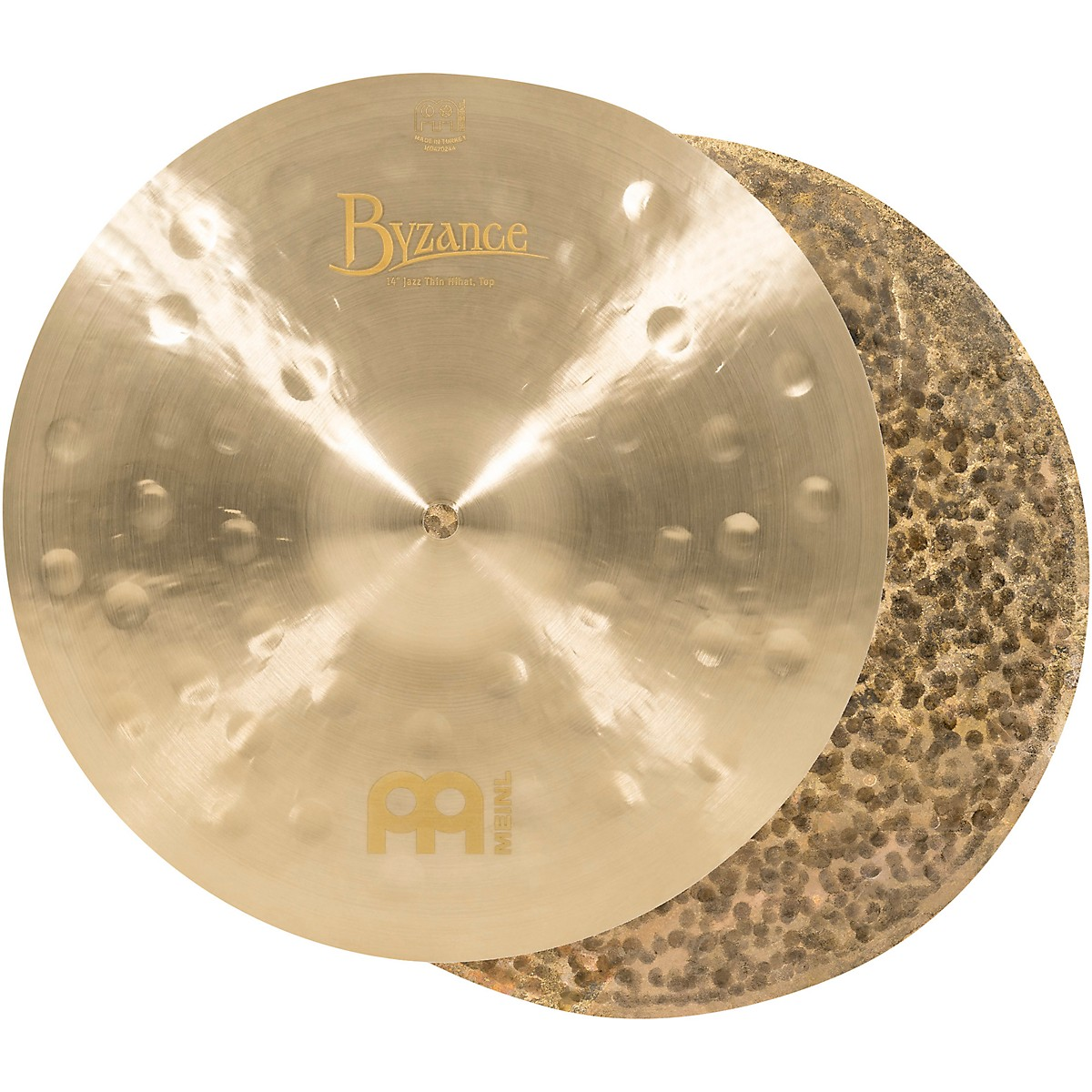 Meinl Byzance Jazz Thin Hi-Hat Traditional Cymbals