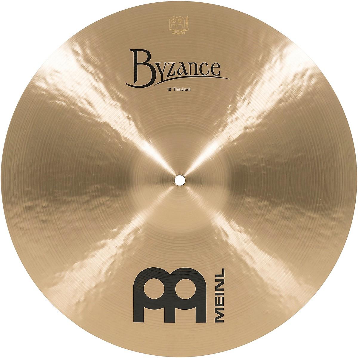 Meinl Byzance Thin Crash Traditional Cymbal