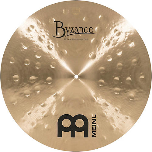 Meinl Byzance Traditional Extra Thin Hammered Crash
