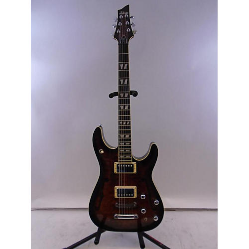 Schecter Guitar Research C-1 E/a Hollow Body Electric Guitar