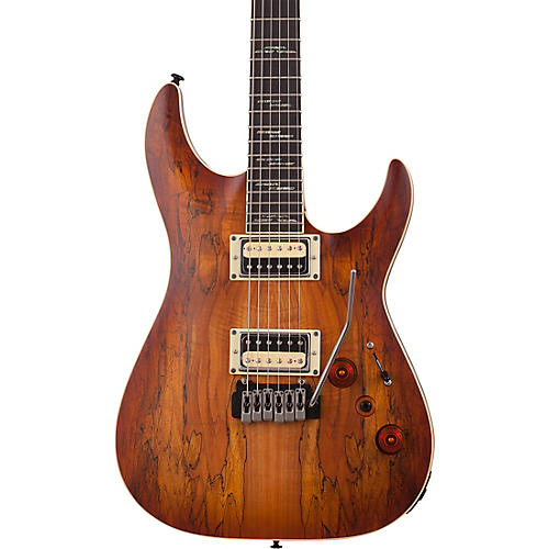 Schecter Guitar Research C-1 Exotic Spalted Maple 6-String Electric Guitar